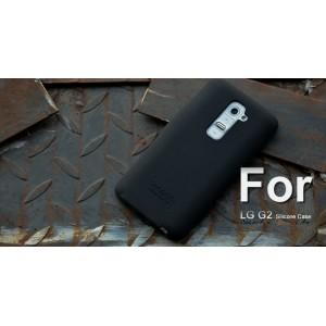 Силиконовый чехол софт тач премиум для LG Optimus G2 Черный