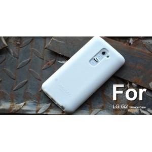 Силиконовый чехол софт тач премиум для LG Optimus G2 Белый