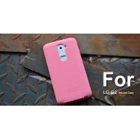 Силиконовый чехол софт тач премиум для LG Optimus G2 Розовый