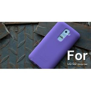 Силиконовый чехол софт тач премиум для LG Optimus G2 Фиолетовый