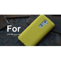 Силиконовый чехол софт тач премиум для LG Optimus G2 Желтый