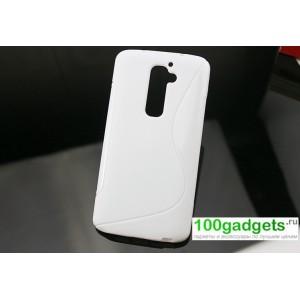 Силиконовый чехол S для LG Optimus G2 Белый