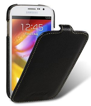 Кожаный чехол вертикальная книжка для Samsung Galaxy Grand / Grand Neo
