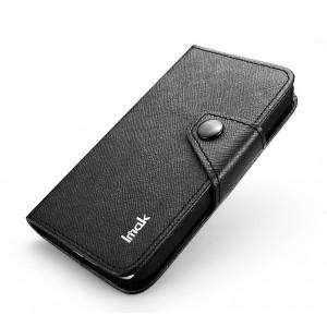 Чехол портмоне подставка для LG Optimus G Pro E988 Черный