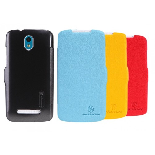 Чехол флип серия Colors для HTC Desire 500 Черный