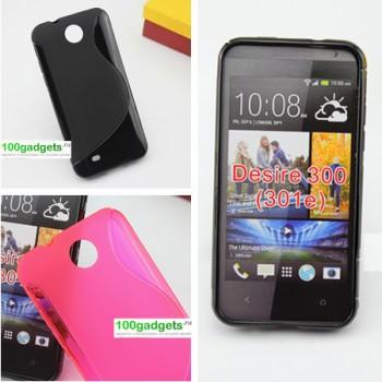 Силиконовый чехол S для HTC Desire 300