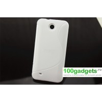 Силиконовый чехол S для HTC Desire 300 Белый