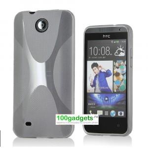 Силиконовый чехол X для HTC Desire 300 Белый