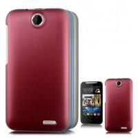 Пластиковый матовый чехол для HTC Desire 310