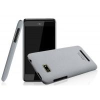 Пластиковый матовый чехол для HTC Desire 400 Dual SIM Белый