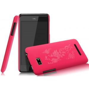 Пластиковый чехол с принтом серия Nature Shell для HTC Desire 400 Dual SIM