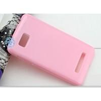 Силиконовый чехол для HTC Desire 400 Dual SIM Розовый