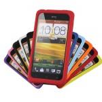 Силиконовый чехол софт тач премиум для HTC Desire 400 Dual SIM