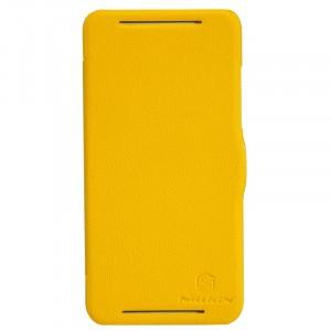 Чехол флип серия Colors для HTC Desire 700 Желтый