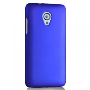 Пластиковый чехол для HTC Desire 700 Синий