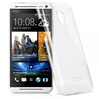 Пластиковый транспарентный чехол для HTC Desire 700