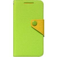 Чехол портмоне подставка текстурный для HTC Desire 700 Зеленый
