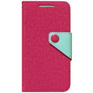 Чехол портмоне подставка текстурный для HTC Desire 700