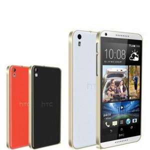Металлический бампер для HTC Desire 816