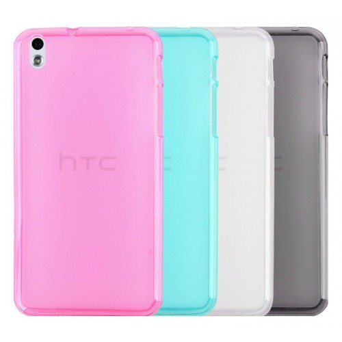 Силиконовый чехол для HTC Desire 816 Черный