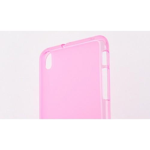 Силиконовый чехол для HTC Desire 816 Розовый