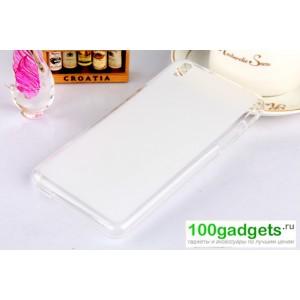 Силиконовый чехол для HTC Desire 816 Белый
