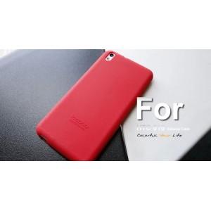 Силиконовый чехол софт-тач премиум для HTC Desire 816 Красный