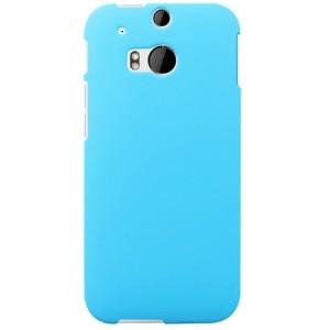 Пластиковый чехол для HTC One 2 Голубой