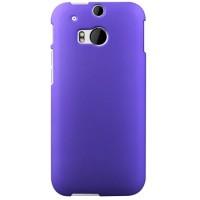 Пластиковый чехол для HTC One 2 Фиолетовый