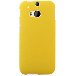 Пластиковый чехол для HTC One 2 Желтый