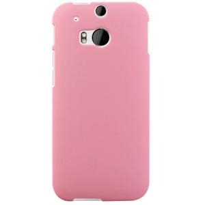 Пластиковый чехол для HTC One 2 Розовый