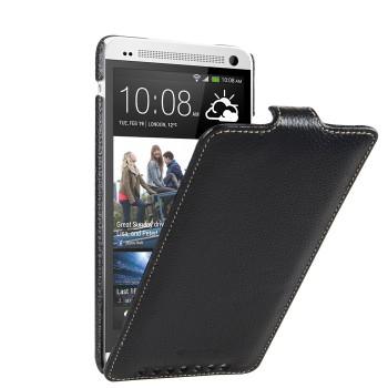 Кожаный чехол книжка вертикальная для HTC One Max