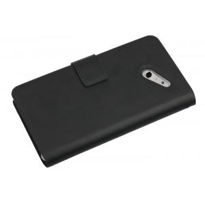 Кожаный чехол книжка горизонтальная для Huawei Ascend D2