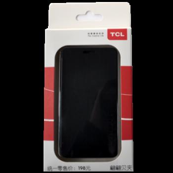 Оригинальный чехол флип для Alcatel One Touch Idol Черный