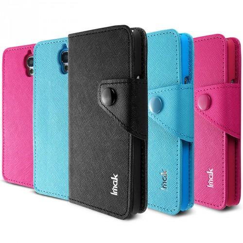 Чехол портмоне для Alcatel One Touch Idol Розовый