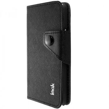 Чехол портмоне для Alcatel One Touch Idol Черный