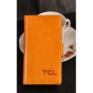 Кожаный чехол портмоне для Alcatel One Touch Idol X