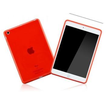Силиконовый полупрозрачный чехол для Ipad Air Красный