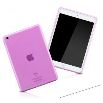 Силиконовый полупрозрачный чехол для Ipad Air Розовый