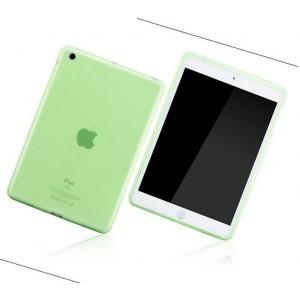 Силиконовый полупрозрачный чехол для Ipad Air Зеленый