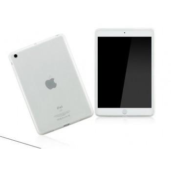 Силиконовый полупрозрачный чехол для Ipad Air Белый