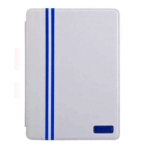 Кожаный чехол смарт подставка серия Sport Line для Ipad Mini 2 Retina Белый