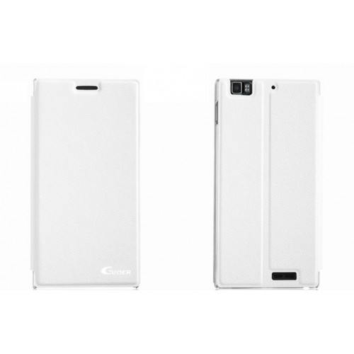 Чехол флип подставка клеевой серия Suction Power для Lenovo IdeaPhone K900