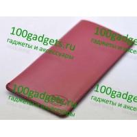 Кожаный мешок для Lenovo K900 Красный