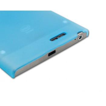 Пластиковый полупрозрачный чехол для Lenovo IdeaPhone K900