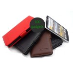 Кожаный чехол портмоне (нат. кожа) для Lenovo IdeaPhone K900