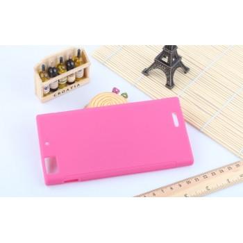 Силиконовый чехол для Lenovo IdeaPhone K900 Розовый