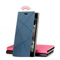 Чехол смарт флип подставка серия Crossed Lines для Lenovo IdeaPhone K900