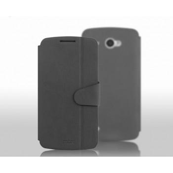 Чехол флип подставка для Lenovo IdeaPhone S920 Черный