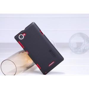 Пластиковый чехол премиум матовый для Sony Xperia L